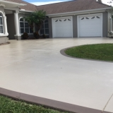 Stained driveway 1